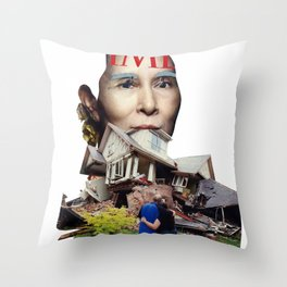 They grow so fast Throw Pillow