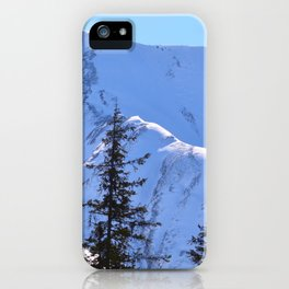 Back-Country Skiing  - V iPhone Case