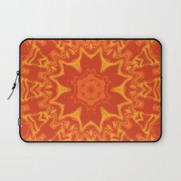Red Orange and Yellow Kaleidoscope 5 Laptop Sleeve
