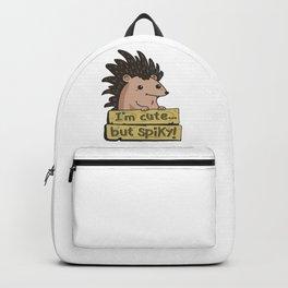 cute hedgehog Backpack