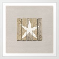 starfish Art Prints featuring Starfish by Alyn Spiller