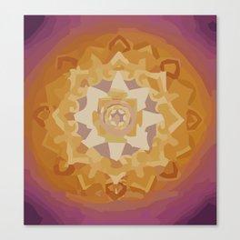 Mandala sun Canvas Print