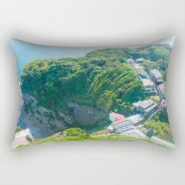 Old Enoshima Rectangular Pillow
