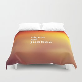 DOM OF JUSTICE Duvet Cover