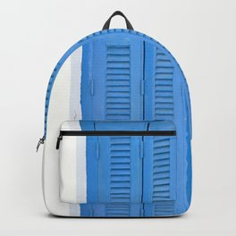 The Blue Window, Milos Backpack