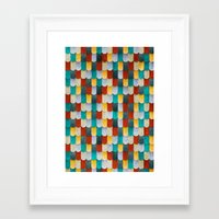 mermaid Framed Art Prints featuring Mermaid by Diogo Verissimo