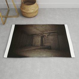 nobunny in the basement Rug
