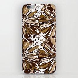 Autumn and Winter Dahlia  iPhone Skin