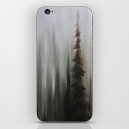 Pacific Northwest Forest oil painting by Jess Purser iPhone Skin