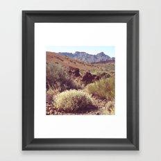 Mount Teide Framed Art Print