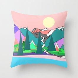 Wanderlust 2 Throw Pillow