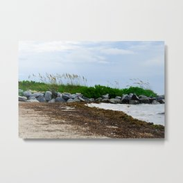 Key Biscayne Beach Metal Print