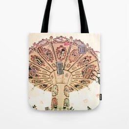Happy Swinging Tote Bag