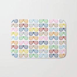 Rainbow Shutter Shades Bath Mat