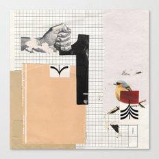 1 - Arrow Bird Canvas Print
