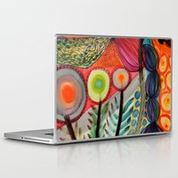 les mis Laptop & iPad Skins featuring les vivaces by sylvie demers