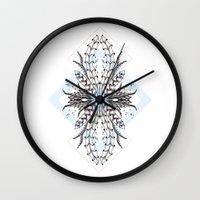 underwater Wall Clocks featuring Underwater by Barlena