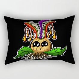 Betty Bulb Blooming Monster Rectangular Pillow