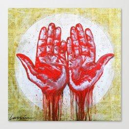 Kill to Live Canvas Print