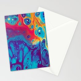 Impure Pour Art Stationery Cards