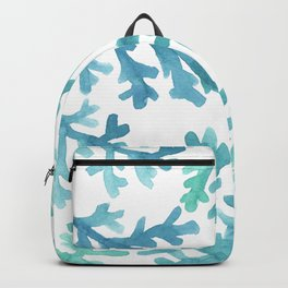 Blue Ombre Coral Backpack