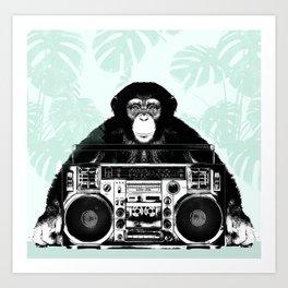 Jungle Music 02 Art Print