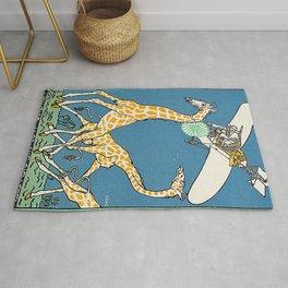 Bloodless Giraffe Hunt (Unblutige Jagd auf Giraffen) 1911 Rug