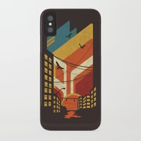 street art iPhone & iPod Cases featuring Street by The Child