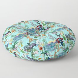 Ladies of the canyon, tribute to Joni Mitchell. Floor Pillow