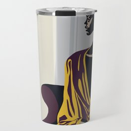 Yellow robe Travel Mug
