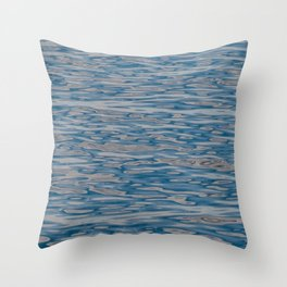 Ocean Ripples and Reflections Throw Pillow