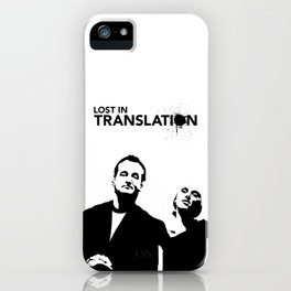 Lost In Translation - Alternative Movie Poster iPhone Case