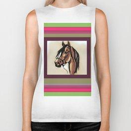 Horse 4 WIP Biker Tank