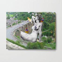 Dinan, Ma Ville Metal Print
