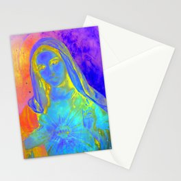 Holy Mary  Stationery Cards