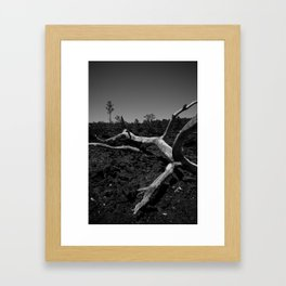 Where there is smoke... Framed Art Print
