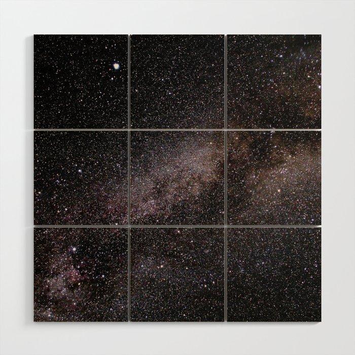 The Milky Way Wood Wall Art