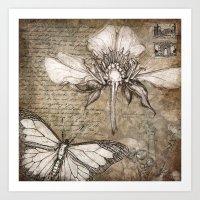 Botanical Collage #2 Art Print