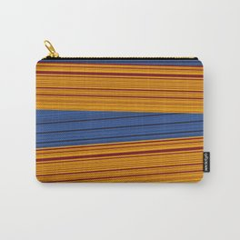 Sunrise Spot Weave Carry-All Pouch