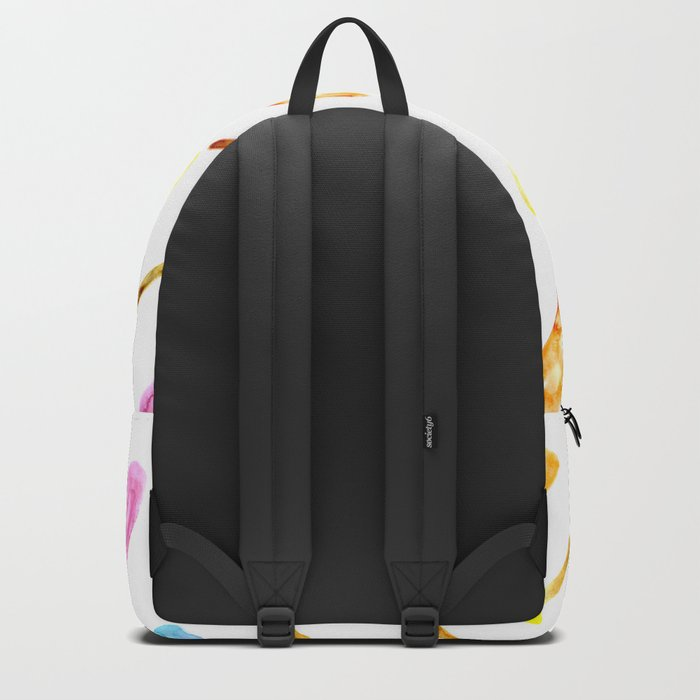 Watercolor popsicles Backpack