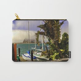 Tropical Morro Bay Carry-All Pouch