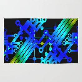 Modern Abstract Line Art Rug