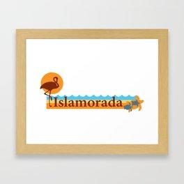 Islamorada - Florida. Framed Art Print