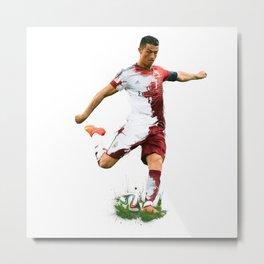 Ronaldo Metal Print