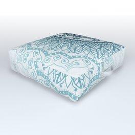 Frankfurter Mandala Outdoor Floor Cushion