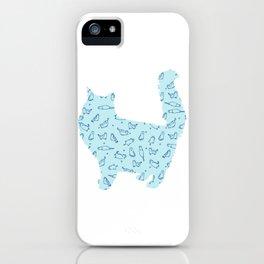 Cat 123 iPhone Case