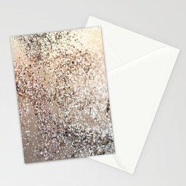Sparkling GOLD Lady Glitter #1 #decor #art #society6 Stationery Cards