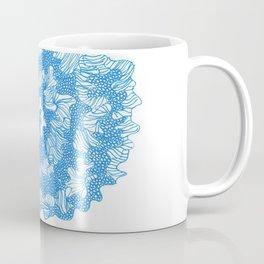 March's Blue 6   | Artline Drawing Pens Sketch Coffee Mug