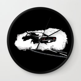Charger R/T (Reverse) Wall Clock