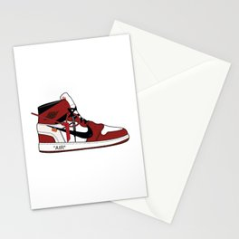 Jordan I x Off White Stationery Cards